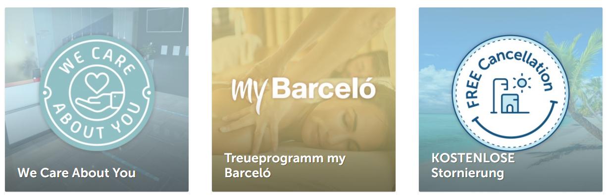 Das Angebot von Barceló