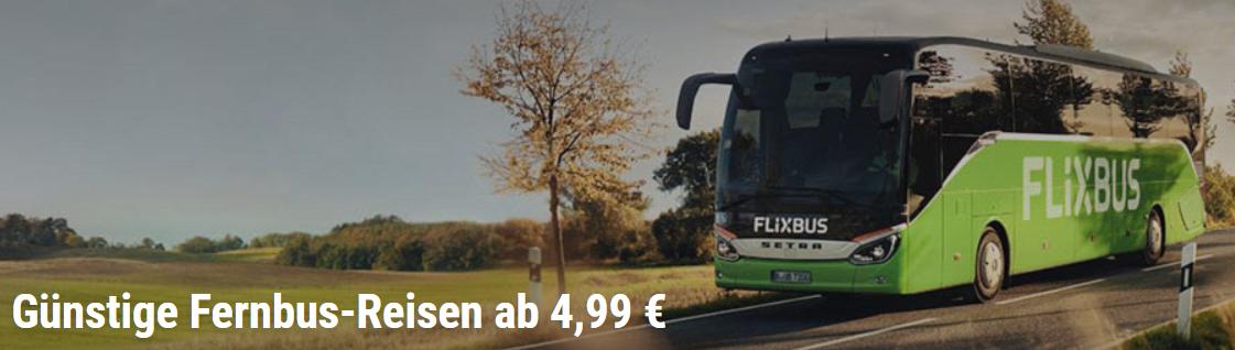 Mit einem FlixBus Gutschein günstig durch Europa reisen