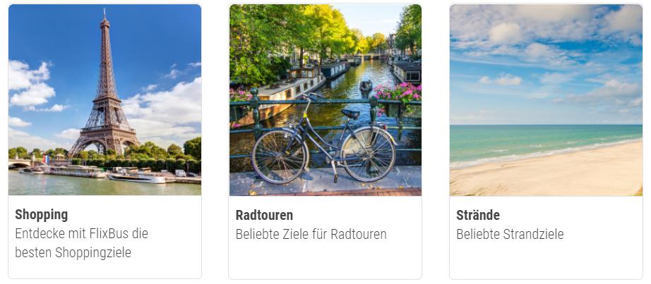 Einmal Europa und wieder zurück - günstig mit dem Flixbus Rabattcode