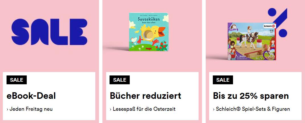 Mit Thalia Gutschein Bücher, eBooks und mehr günstig kaufen