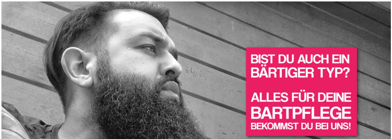 Die Startseite von Beardstyle