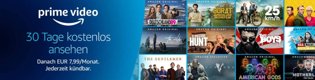 Mit Amazon Prime die besten Serien schauen