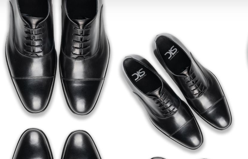Hochwertige Lederschuhe mit einem Design Italian Shoes Gutschein kaufen