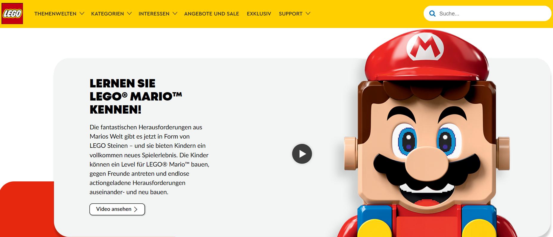 Mit einem Lego Gutschein sparen