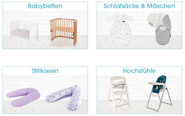Das Angebot von Baby-Markt