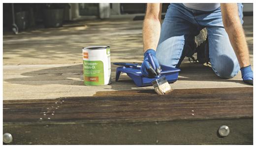 OBI-Tipps für die Holzpflege